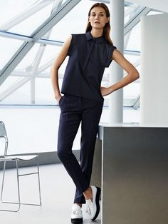 12 Minimal Work-Perfect Looks From Mango via @WhoWhatWear