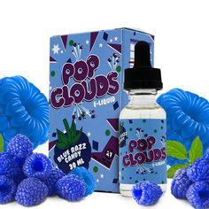 Blue Razz - Pop Clouds E Liquid #eliquidwholesale