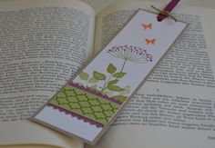 Summer Silhouettes bookmark