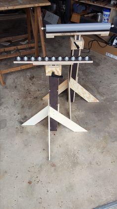 Zwei Rollenböcke Bauanleitung zum selber bauen | Heimwerker-Forum (Woodworking Jigs)