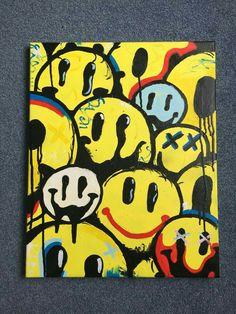 hippie painting ideas 350295677269199077 - Source by clochettepan Cute Canvas Paintings, Small Canvas Art, Mini Canvas Art, Hippie Painting, Trippy Painting, Hippie Drawing, Trippy Drawings, Art Drawings Sketches, Tableau Pop Art