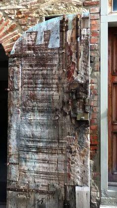 Weathered door in Assisi
