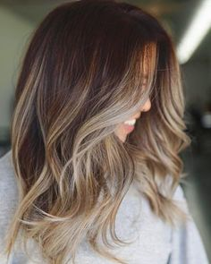Hairstyles 35 Popular Brunette Balayage Hair Color Ideas Source by Blonde Ombre Hair, Brown Hair With Blonde Highlights, Ombre Hair Color, Brunette Color, Brown Hair Colors, Balayage Hair Brunette With Blonde, Balayage Ombré, Brown Hair Balayage, Hair Color Balayage