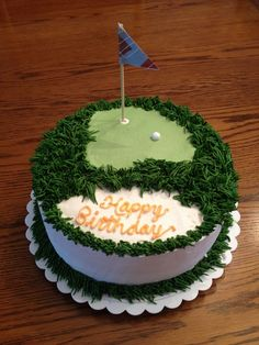 Golf cake for hubby's birthday :: Party Planning (This is an affiliate link) Learn more concerning the excellent item at the image link. Golf Cookies, Cake Cookies, Cupcake Cakes, Cupcakes, Cupcake Ideas, Cake Decorating Kits, Cake Decorating Techniques, Golf Cake Toppers, Hubby Birthday