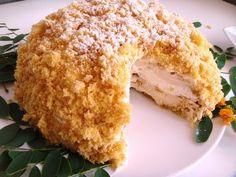 Torta Mimosa: La Receta Original Con Crema Pastelera - COSASDELMUNDO.NET.