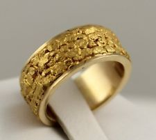 Gold Nugget Wedding Bands Google Search