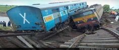 28 Dead as Kamayani, Janata Express Trains Derail in Madhya Pradesh  For more info visit www.a360news.com