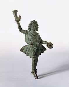 Statuette of a lar.Roman, 2nd century