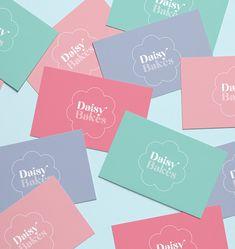 Packaging Solutions, Packaging Ideas, Brand Packaging, Cake Branding, Branding Design, Stationery Business, Daisy, Print Design, Graphic Design