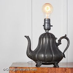 Project Video: Make a Teapot Lamp