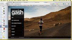 Samantha Gash's website is a great example of online done well. #RunwayDigital #SocialMedia