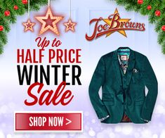 Joe Browns Winter Sale Up to 50% Off Christmas Offers, Winter Sale, 50th, Shop Now, Christmas Ornaments, Holiday Decor, Brown, Shopping, Christmas Jewelry