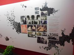 Exhibit design:: IMSc Wall Timeline on Behance