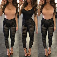 21d1b398a6da Europe and United States 2017 New Design Sexy Night Club Bodycon Jumpsuit  Summer Sleeveless Lace Patchwork Overalls for Women