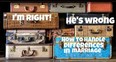I view this situation COMPLETELY different from my husband... now what? A #marriage #blog to help with this situation.
