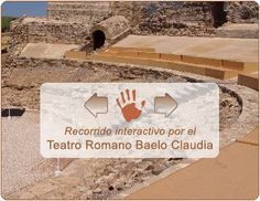 Visita virtual e interactiva al teatro romano de Baelo Claudia. #virtual #interactivo