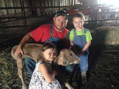 Two-Headed Cow Born On Family Farm Has No Idea She's Any Different