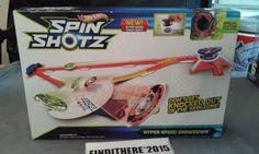HOT WHEELS SPIN SHOTZ SPECIAL EDITION MATTEL NIB 2012 #Mattel