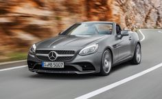 -After 20 years, the SLK moniker is history at Mercedes-Benz, but the vehicle to which it was attached will live on. The compact roadster, sort of a diminutive SL, henceforth will be known as the SLC-class and arrives this spring as a 2017 model. (Cue SLC Punk references.) It's part of the renaming scheme that was announced jus…