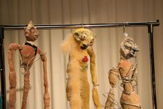 enter the weird and wonderful world of puppets with artist isabel ...