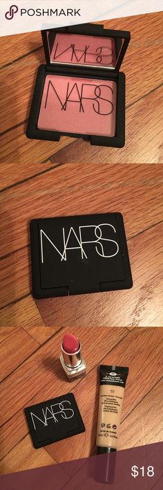 BRAND NEW Mini NARS Blush in Goulue Brand new Nars Blush in Goulue. Very iconic shades for cheeks! Come with nice box and 100% authentic. 0.14 oz 4g Happy Poshing! NARS Makeup Blush
