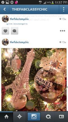 Chanel ornaments