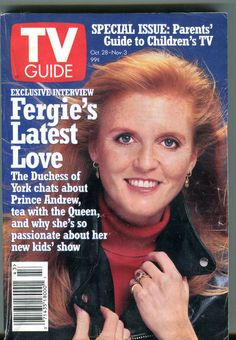 TV Guide Magazine October 28 November 3 1995 Sarah Ferguson EX 041916JHE | eBay