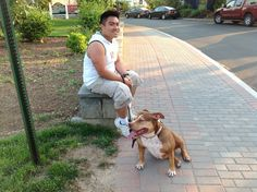 How to Walk Your Dog Cesar Millan's Way with David and Trinity the Pit Bull