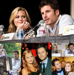 James Roday and Maggie Lawson | Psych