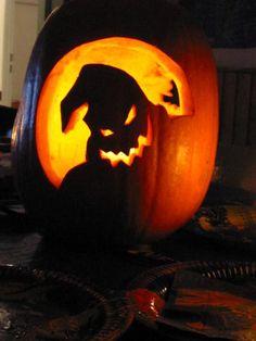 Thema: halloween - kürbis präparieren