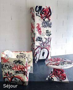 Design For Life  #street #art #graff #graffiti #design #meuble #furniture