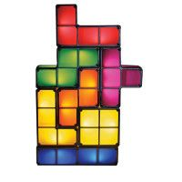 This Tetris Lamp is based on the super-addictive worldwide favorite game of Tetris. This lamp contains seven separate Tetris block lights that interlock together to form the whole lamp. These bright neon lights can be stacked in any combination. Mood Light, Lamp Light, Night Light, Desk Light, Light Led, 3d Origami, Latest Electronic Gadgets, Table Led, Mother's Day