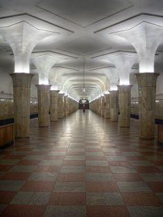 Kropotkinskaya, Moscow subway station (станция Кропоткинская) | Flickr - Photo Sharing!