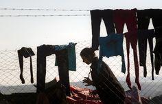 37 φωτογραφίες από την Ειδομένη: Η ελπίδα θάφτηκε στις λάσπες