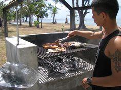 Beach BBQ in Saipan