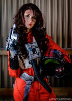 """""""Red 5, standing by."""" Luke Skywalker (Star Wars) #cosplay at East Coast Comic Con 2016, Photo by Tom DeRosa"""