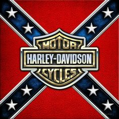 Harley-Davidson will no more license products featuring the Confederate flag… Harley Davidson Logo, Harley Davidson Images, Harley Davidson Tattoos, Harley Davidson Wallpaper, Motor Harley Davidson Cycles, Harley Davidson Motorcycles, Triumph Motorcycles, Custom Motorcycles, Custom Bikes