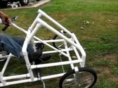 American Speedster: The PVC Bike Car