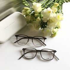 You can order these Marc Jacobs fashion sunglasses and eyeglasses with or without prescription lenses on our webshop www.eyecatchonline.com Marc Jacobs Eyewear, Prescription Lenses, Eyeglasses, Sunglasses Case, Fashion, Eyewear, Moda, Fashion Styles, Glasses