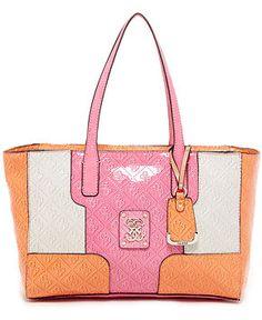 99f0fe2bc3 GUESS Valka Medium Tote Handbags   Accessories - Macy s