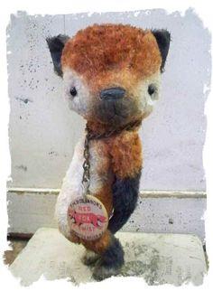 Little fox by Whendi's Bears.