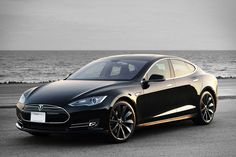 Tesla Model S P85D. Gotta respect Elon Musk for following is dream. I can only hope that I can do the same someday.
