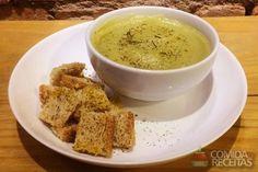 Receita de Creme de batata doce e alho poró em receitas de molhos e cremes, veja essa e outras receitas aqui!