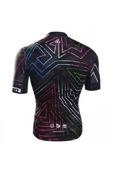 Black Short Sleeve Cycle Jersey for Sale 1631b3220