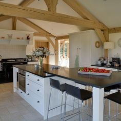 Kitchen | Be inspired by this rustic new-build house tour | housetohome.co.uk
