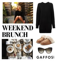 """""""Weekend Brunch"""" by conch-lady ❤ liked on Polyvore featuring Burberry, RVCA, Proenza Schouler, UGG Australia and STELLA McCARTNEY"""