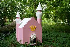 Guarding a castle!