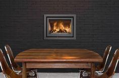 Inzet houtkachel barbas unilux-3 65 Inset Stoves, Outdoor Furniture, Outdoor Decor, Showroom, Modern, House, Home Decor, Van, Design