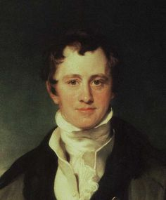 Sir Humphry Davy (1778-1829), by Sir Thomas Lawrence. Detail. 1815. Royal Institution, London, UK