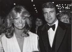 Farrah Fawcett Majors and husband Lee Majors
